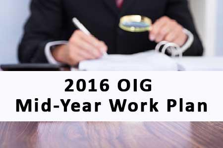 OIG mid-year work