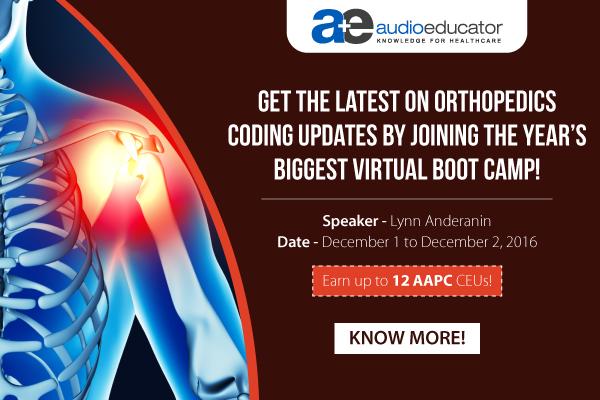 Orthopedics Updates - VBC
