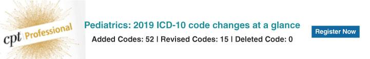 Pediatrics CPT Codes